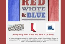 America's Birthday Sale! / Sale on all RWL things Red, White and Blue!