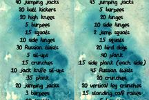 Fitness: workout plan