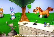 Pediatric Medical Offices / Themed environments and mural ideas for medical offices.
