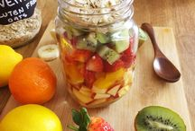 salada de fruta de pote e mais