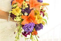 Tropical Beach Wedding Bouquets