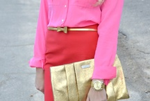 Looks we adore / Love the color combinations and look of these outfits-uber chic!