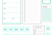 family planner printables