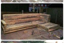 Outdoor/Patio furniture ideas