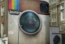 Street art, graffiti, mural, 3D. 2 / by Luis