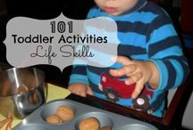 Baby and toddler activities  / Playing and learning