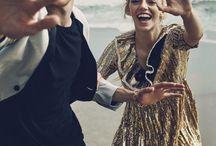 Beach couple shoot inspo