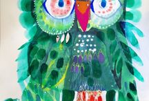 i love owls / owls owls owls