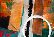 abstract art circles