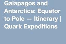 Antarctica and Galapagos