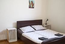 Hostel Rooms / The Hostel Old Lviv in Kutaisi Georgia has many rooms according to your necessity between then you can find share rooms for 4 guest, share rooms for 2 guests and privates rooms
