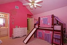 Pink, Purple, Colorful Rooms
