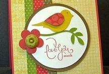 Bird Punch Cards / Using the SU bird punch