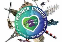 Salons du Timbre / Les Salons du Timbre depuis 2004, au Parc Floral de Paris, à Vincennes. Aperçus photographiques des événements.