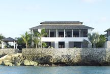 Mi Casa / The most recent constructed beachfront villa. The hand of our interior designer Karin Meyn is visible throughout the villa since she frequents this lovely house several times a year.