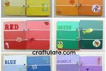 Colour games diy