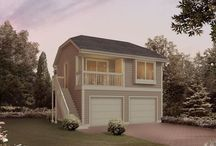 Apartment Garage Plans / If you love your home and where it's located, but you need additional space for older family members, children, or guests, then these garage apartment plans are ideal for adding to your existing home.