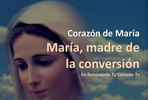 """CONVERSION "" VIRGEN MARIA / by Richard Oropeza"