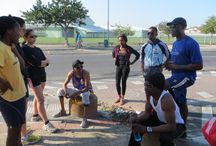 Run Gugulethu / Enjoy an informative running tour of Gugulethu township by joining local running guide, Vincent Ntunja.  Run through the streets of the township of Gugulethu, visit the important historical landmarks, and enjoy some refreshments at Mzoli's (one of Gugs' most visited braai (barbecue) spots) afterwards. www.runcapetown.co.za