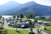 viaggi e sosta in camper e camping