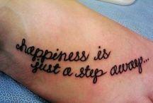 Tattoos  / by Lauren Hall