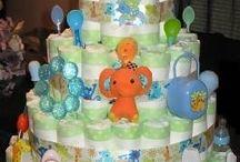 diaper cakes / by Destiny White
