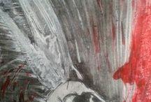 Tableaux de Mathild-luna / Créations de l'artiste Mathilde Delavenne Artiste peintre et auteure. http://mathild-luna.blogspot.fr