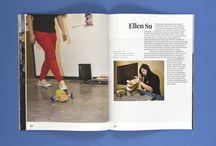 magazine & book layout