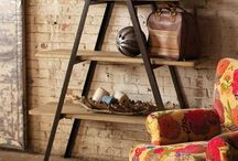 Wooden shelving ideas
