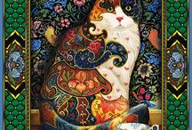 Cat Jigsaw Puzzles by White Mountain Puzzles / Jigsaw Puzzles of Cats from White Mountain Puzzles.
