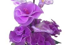 kwiaty z nylonu