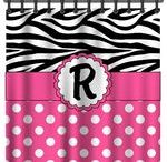 Personalized Shower Curtains / Add some pazzazz to your bathroom!