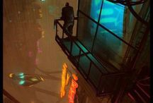 City night scenes