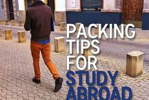Studying Abroad / Longer term study in another country for school or university students.