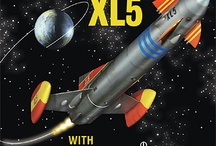 GERRY ANDERSON part 2 / puppets-vehicles-villans-from marina-sting-ray--fireball xl5