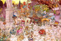 The Amazing Art of Moebius (Jean Giraud)