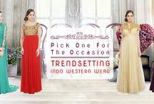 #Gown #Saree