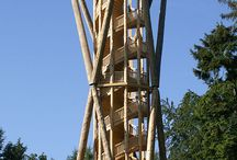 Holz und Turm