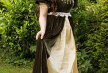 Średniowieczne suknie