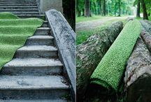 Zelené podlahy / Green floors