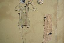 Textile Art - Collages