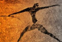 Art Prehistoric /   Cave Art: posters, prints, wearables and accessories, homeware
