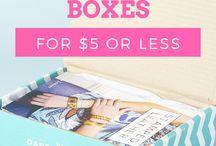 Subscription Box INSPO