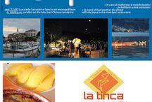 """""""Cena sul Lungolago"""" spettacolare tavolata allestita sul Lungolago 10 luglio Clusane (BS)"""
