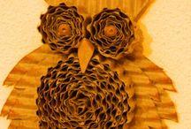 papírová sova