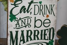 St Patricks day themed wedding / If your big day falls on St Patricks day then this board is full of inspiration.