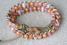 Jewellery making-bracelets / by Karen Eadie