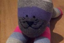 puppets, dolls, socks.......