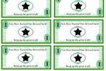 Kid reward system