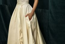 fashion / fashion, wedding dress, evening dress